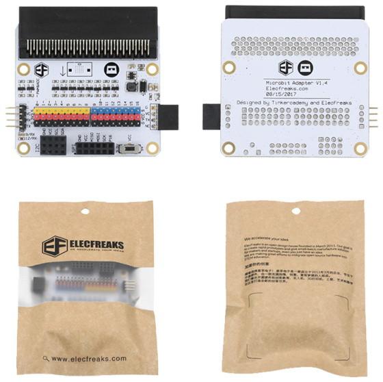 BBC micro:bit rozšiřující modul na bastlení PCB a balení