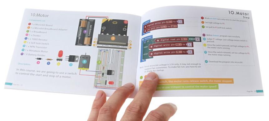 BBC micro:bit Starter Kit návod k použití