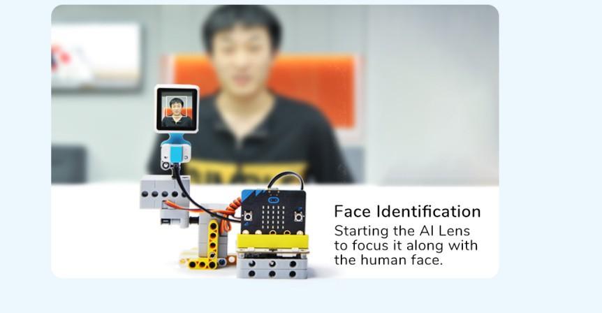 Chytrá kamera pro A.I. umělou inteligenci rozpoznávání tváře