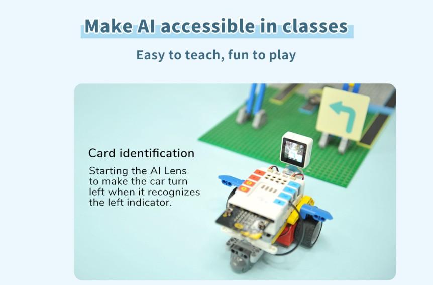 Chytrá kamera pro A.I. umělou inteligenci karty
