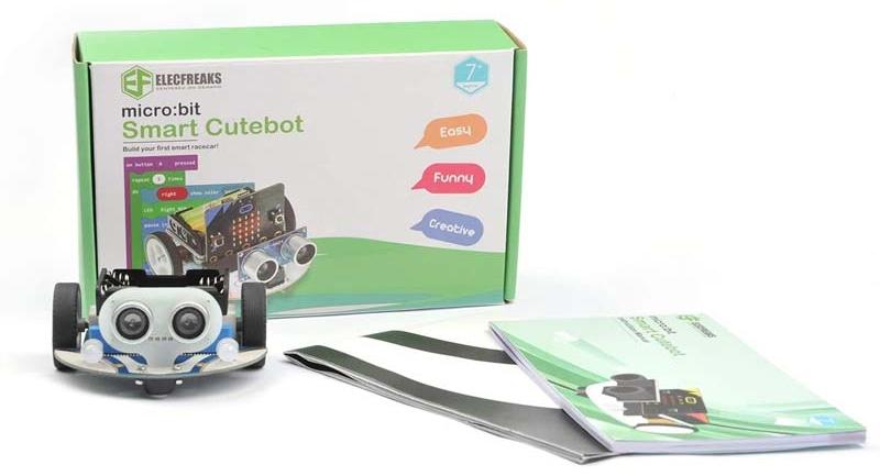Cutebot - Micro:bit chytré závodní auto balení