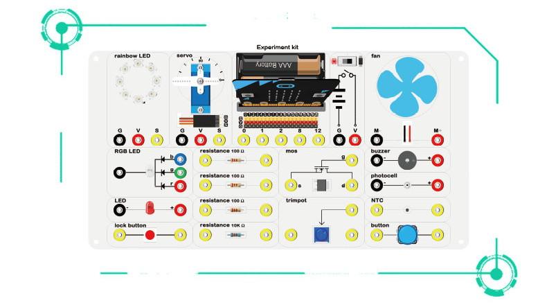 Experiment Kit pro micro:bit - elektronické obvody