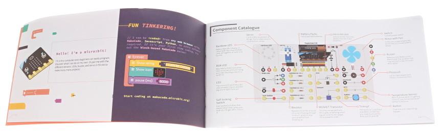 Experiment Kit pro micro:bit - popis součástek