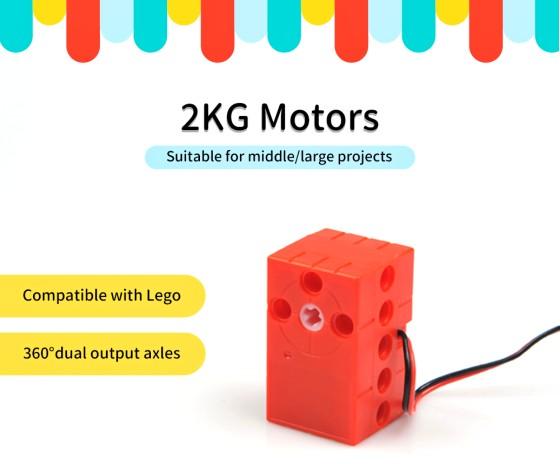 Geekservo motor 2kg kompatibilní s LEGO®