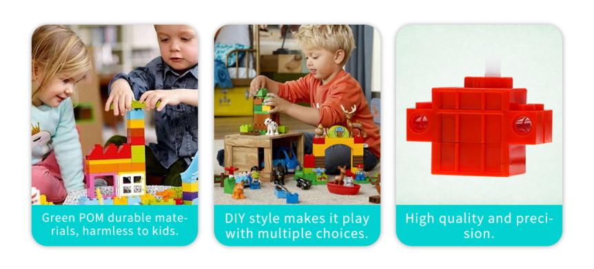 Geekservo motor kompatibilní s LEGO výhody