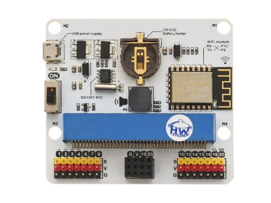 IoT:bit pro micro:bit - modul pro Internet věcí IoT deska