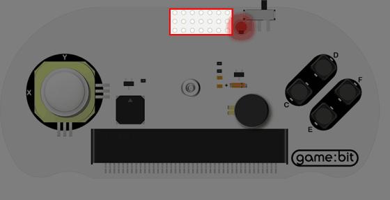 Joystick:bit pro micro:bit V2 - gamepad modul - rozšiřující konektor