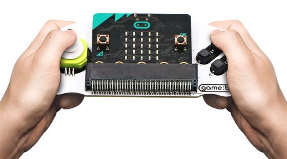 Joystick:bit pro micro:bit V2 - gamepad modul použití