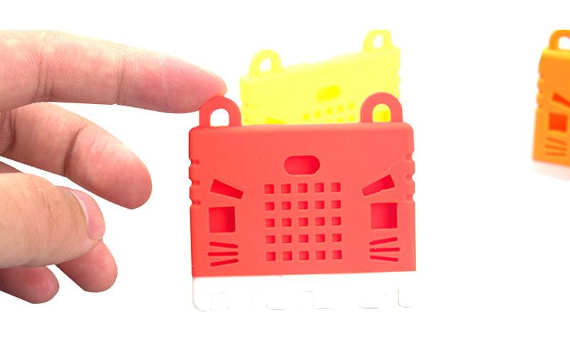 KittenBot Silikonový obal na Micro:bit - bezpečný