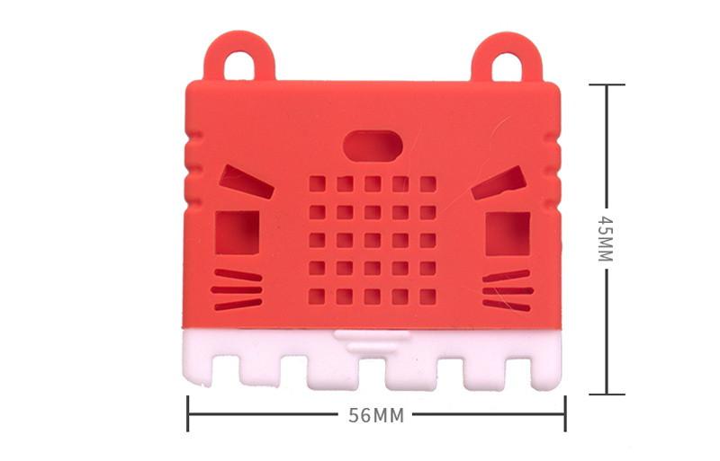 KittenBot Silikonový obal na Micro:bit rozměry