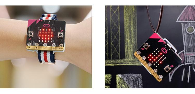 Micro:bit chytré hodinky (Smart Coding Kit) použití