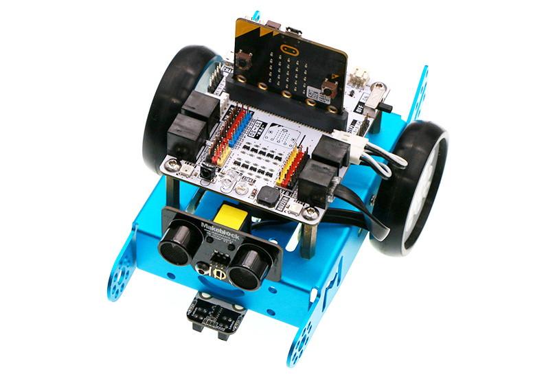 Micro:bit Robit - řídící deska pro chytrého robota - použití s mBot