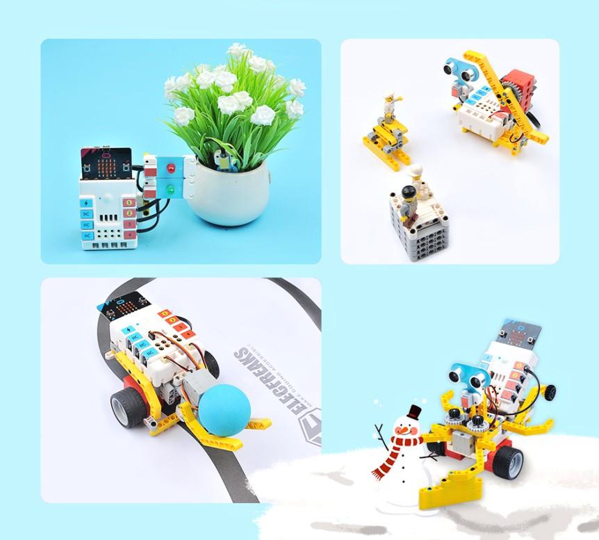 NEZHA Inventor's Kit pro mladé vynálezce - projekty LEGO