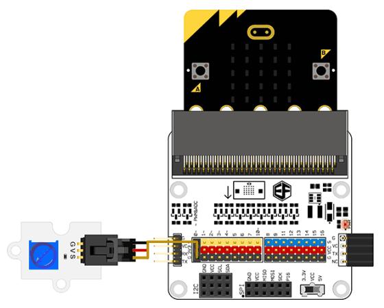 Octopus modul potenciometr zapojení 2