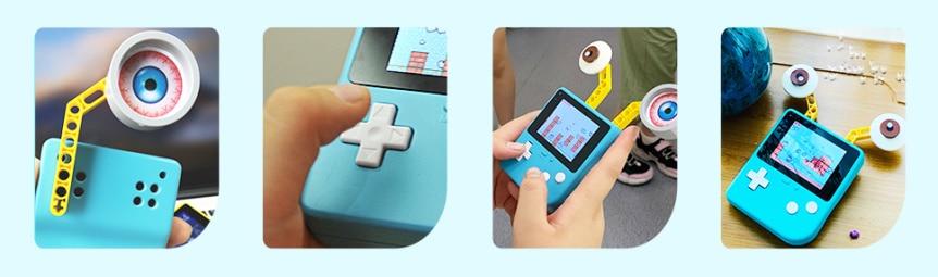 Retro Arcade herní konzole pro výuku programování vlastnosti detail