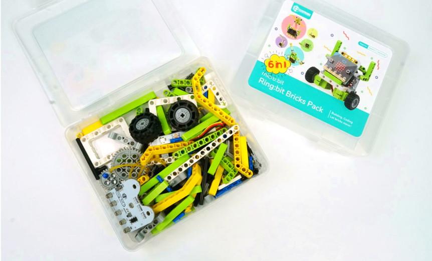 Ring:bit sada kostek kompatibilních s LEGO® krabice