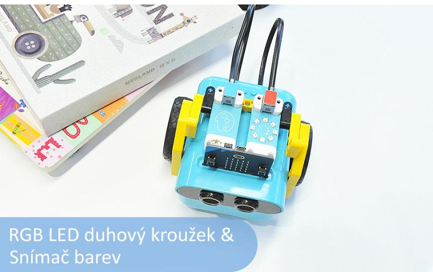 Sada příslušenství pro interaktivní kódování s Nezha a TPBot - RGB LED kroužek a snímač barev