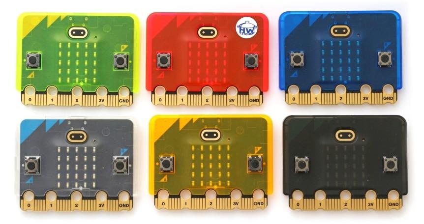 Super slim obal na Micro:bit V2 barvičky