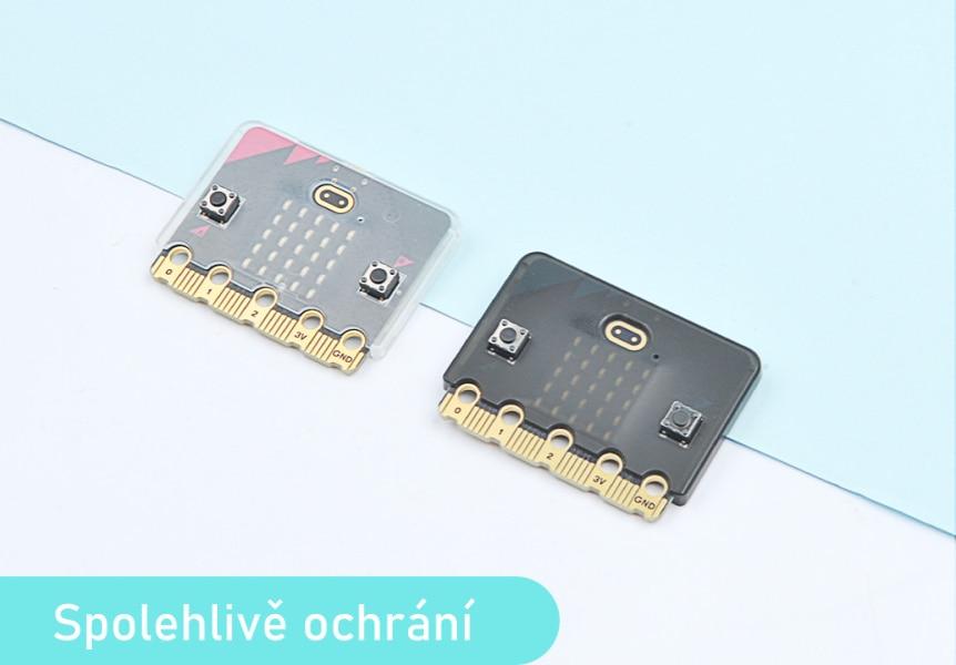 Super slim obal na Micro:bit V2 dokonale ochrání