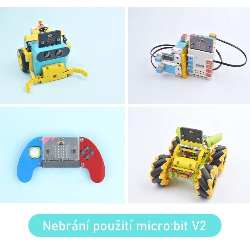 Super slim obal na Micro:bit V2 projekty
