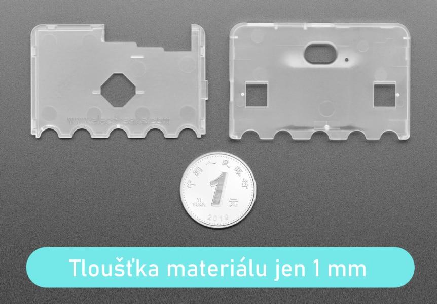 Super slim obal na Micro:bit V2 tenký 1 mm