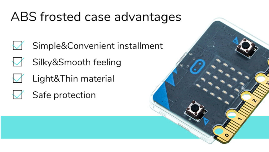Super slim obal na Micro:bit vlastnosi