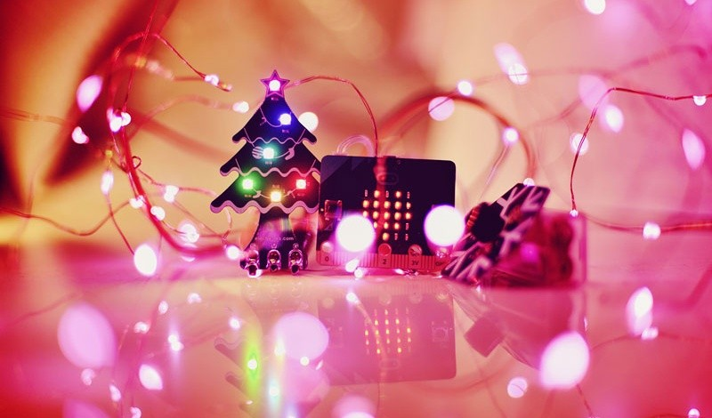 Vánoční sada pro micro:bit moduly