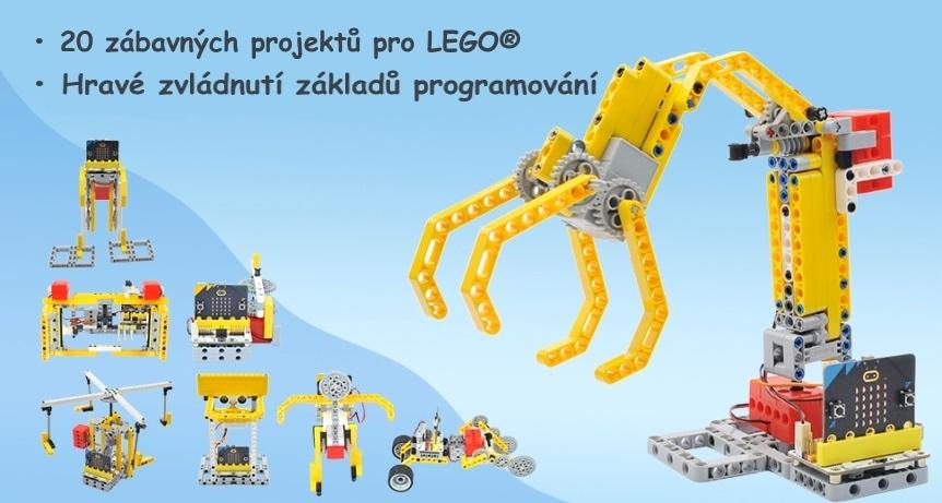 Wonder Building Kit - stavebnice robotů s Wukong 20v1 pro LEGO® (bez micro:bit) vlastnosti