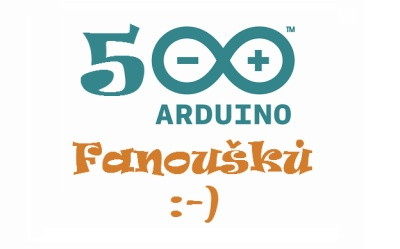 500 fanoušků na Facebooku Arduino.cz
