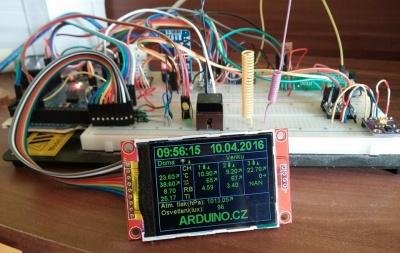 Meteostanice pro Arduino.cz