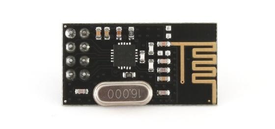 Bezdrátový modul nRF24L01+ 2.4GHz anténa
