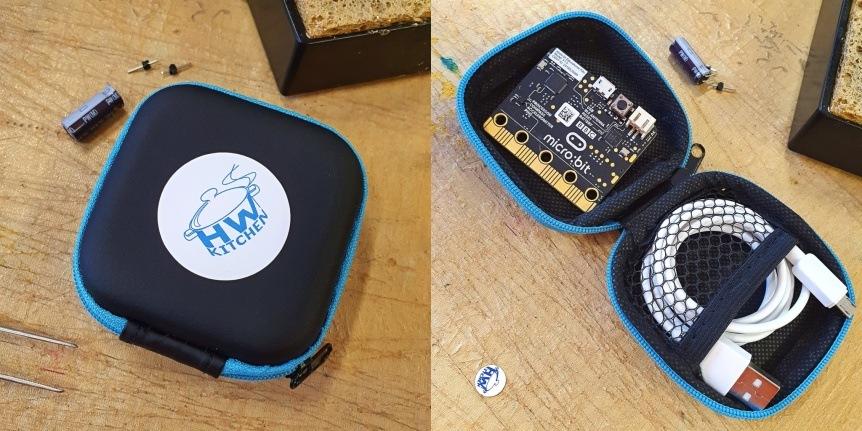 Futrálek pro microbit bastlení