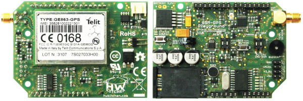 GSM-GPS Playground Shield PCB