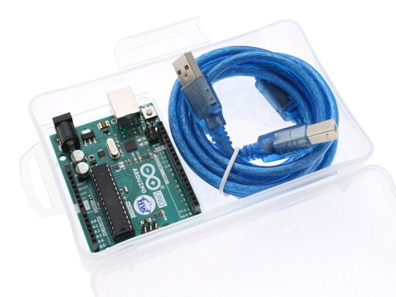 Krabička pro Arduino a věci na bastlení