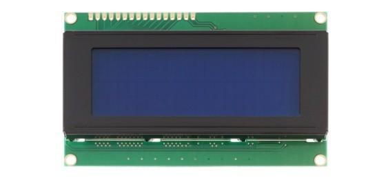 LCD displej 20x4 modrý s podsvětlením