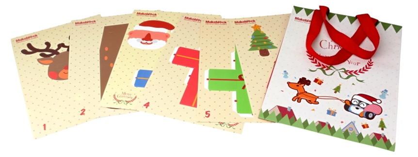 Vánoční dekorace - vzor