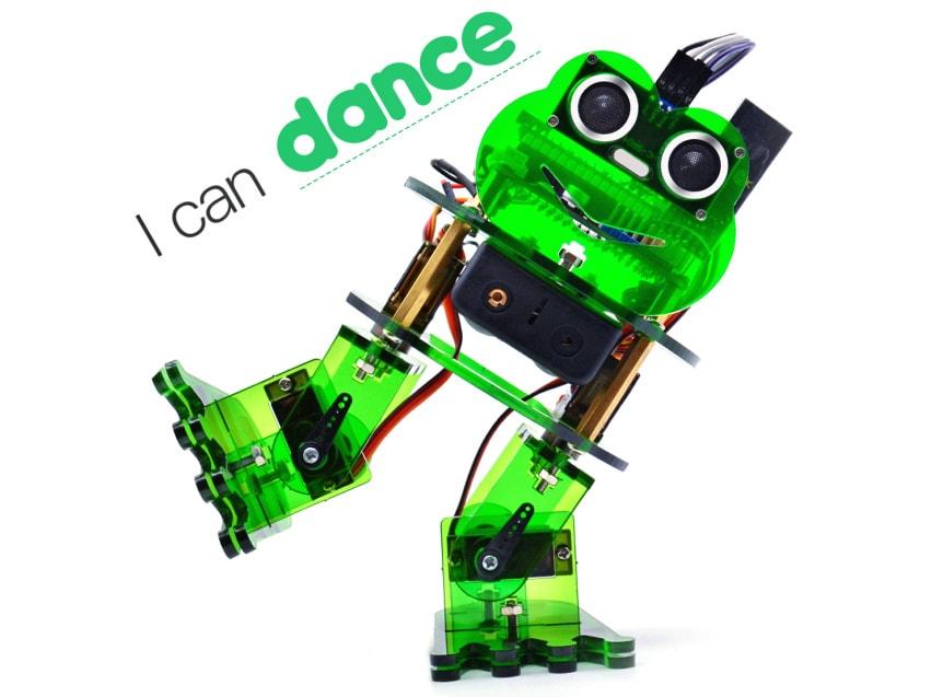 Keyestudio DIY robotický chodící žabák kompatibilní s Otto DIY tancuje