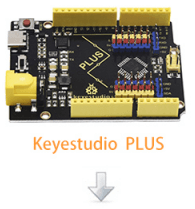Keyestudio PLUS USB-C kompatibilní s Keyestudio PLUS USB-C kompatibilní s Arduino UNO R3-Keyestudio PLUS USB-C