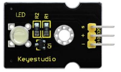 Keyestudio senzor kit 37v1 V3 0 pro arduino-bílá LED