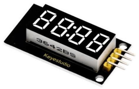 Keyestudio senzor kit 37v1 V3 0 pro arduino-čtyrmístný LED display