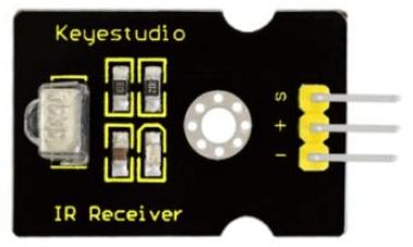 Keyestudio senzor kit 37v1 V3 0 pro arduino-infračervený přijímač