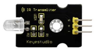 Keyestudio senzor kit 37v1 V3 0 pro arduino-infračervený vysílač