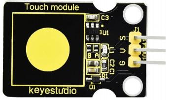 Keyestudio senzor kit 37v1 V3 0 pro arduino-kapacitní dotykové čidlo