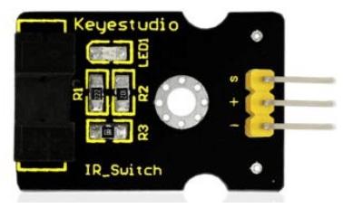 Keyestudio senzor kit 37v1 V3 0 pro arduino-optický přerušovač