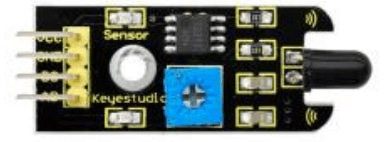 Keyestudio senzor kit 37v1 V3 0 pro arduino-snímač plamene