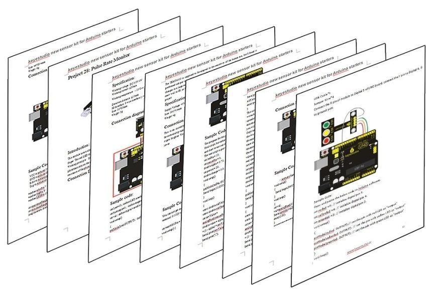 Keyestudio Senzor Kit 37v1 V3.0 pro Arduino projekty