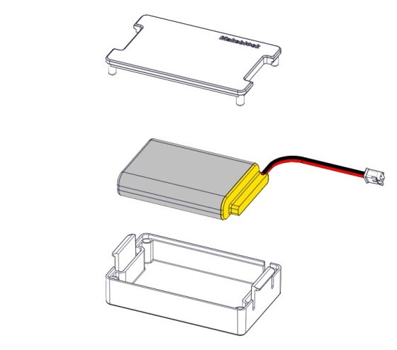 Krabička pro LiPo akumulátor