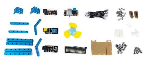 Kreativní Add-on Pack pro mBot & mBot Ranger - I - součásti