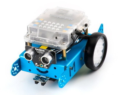 robot mBot - kryt desky