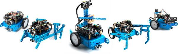 robot mBot - rozšíření